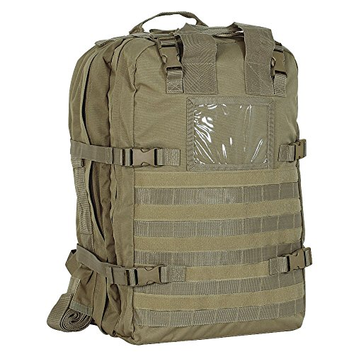 - VooDoo Tactical Men's Deluxe Professional Special Ops Field Medical Pack, Coyote