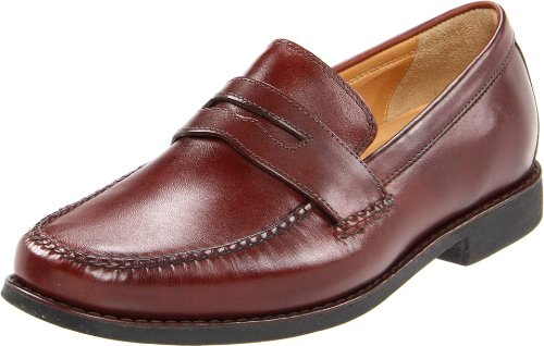 Johnston & Murphy Men's Ainsworth Penny - Antique Mahogan...