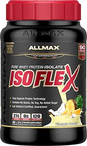 ALLMAX Nutrition Isoflex Whey Protein, Pineapple Coconut, 2 lbs
