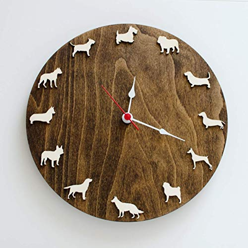 Dog clock 10