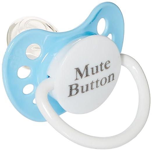 Amazon.com: Chupetes personalizados botón de silencio ...
