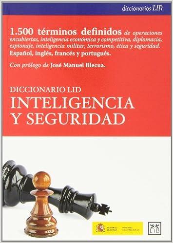 Diccionario LID inteligencia y seguridad