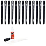Avon Women's Chamois II Golf Grip Kit with Tape/Solvent/Vise Clamp (13 Piece), Black