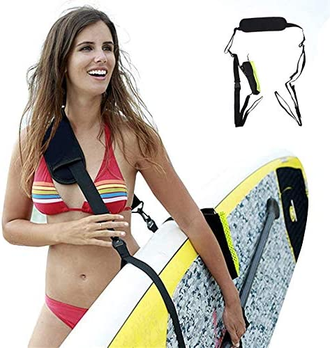 WOWSEA SUP 보트 카약 학생용 캐리 벨트 운반 휴대용 단단하게 안정 조절 서핑 숄더 스트랩 / WOWSEA SUP Kanu Kayak Shoulder Carry Belt Portable Rugged Rugged Stable Adjustable Surfboard Shoulder Strap