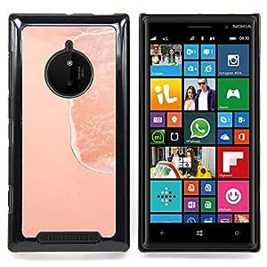 Stuss Case / Funda Carcasa protectora - Sea Shore Arena Arte Extraño Mundo - Nokia Lumia 830