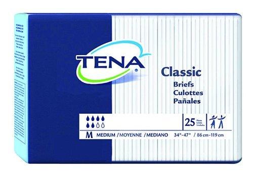 New TENA Classic Briefs Medium /34
