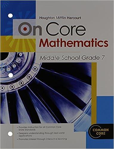 Amazon.com: Houghton Mifflin Harcourt On Core Mathematics ...