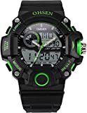 AMPM24 LCD Men's Dual Core Digital Backlight Date Analog Waterproof Sport Watch OHS220