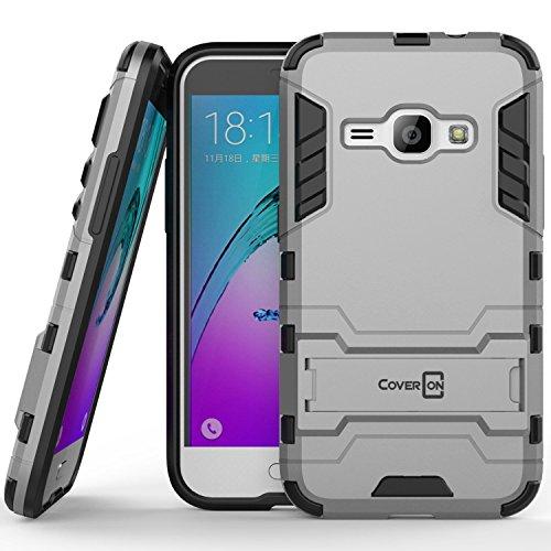 Slim Fit Hybrid Case for Samsung Galaxy J1 (White) - 4