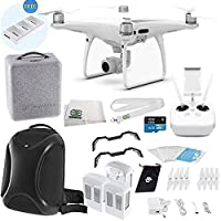 DJI Phantom 4 PRO Quadcopter Ultimate Multifunctional Backpack Bundle
