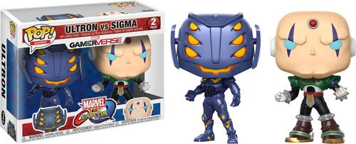 Funko Marvel-Capcom - Pop 2 - Ultron vs Sigma