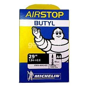 Michelin AIRSTOP BTT - Camara de bicicleta 29x2.00-2.25 Presta valvula 40 mm