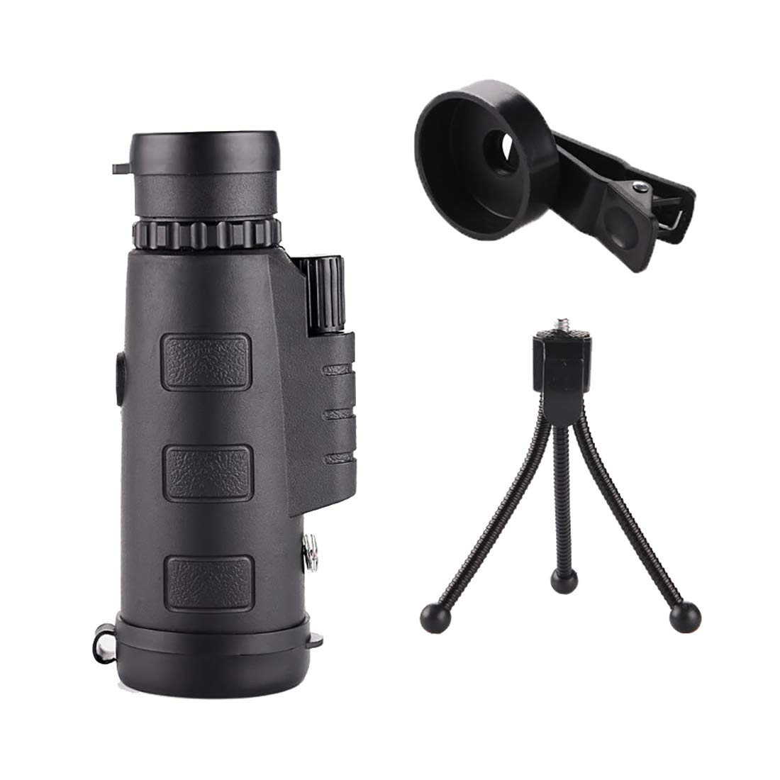 ZGQA-GQA 10X22 Compact Monocular Telescope Pocket Mono Spotting Scope with for Birdwatching Hunting/Camping/Hiking/Golf/Concert/Surveillance for Adult (Size : EX004) by ZGQA-GQA