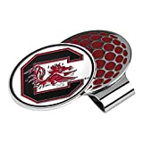 LinksWalker NCAA South Carolina Fighting Gamecocks Golf Hat Clip with Ball Marker