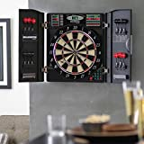 Escalade Sports E-Bristle 3 Piece 1000 LED Electronic Dartboard Cabinet Set
