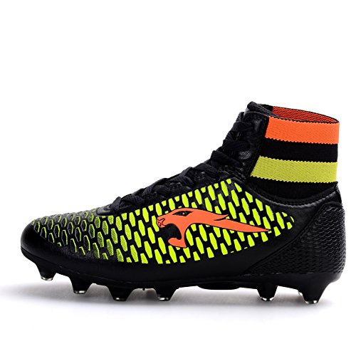 Ankle for Boy High American Black Soccer Mid Breathable football Boots Men's Shoe Shoes Rugby fPIfqS