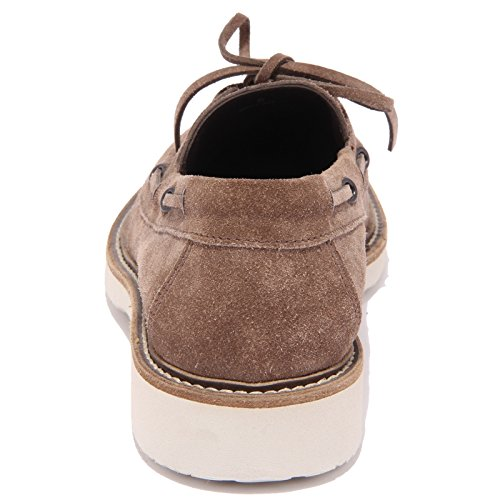 92046 mocassino HOGAN H 217 RPUTE MOD BARCA scarpa uomo loafer shoes men Marrone