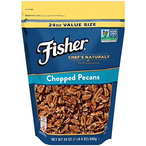 FISHER Chef's Naturals Chopped Pecans, 24 Ounce