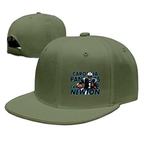 YQUE Unisex-Adult Cam 1# Newton Basketball Player Travel Cap Hat ForestGreen