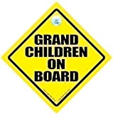 Grandchildren On Board, Grandchildren On Board Car Sign, Baby On Board Sign, Decal, Baby on Board, Grand Children On Board, Grand Parents, Grand Children On Board, Baby Car Sign, Bumper Sticker, Decal, Baby Car Signs