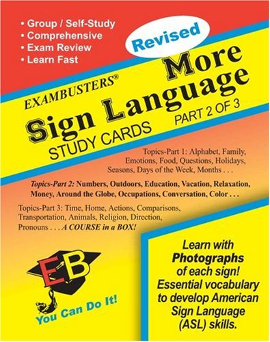 uage (2 of 3) Exambusters Study Cards (Ace's Exambusters) ()