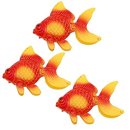Peces de acuario tanque de Oranment Vívidamente Goldfish Decoración