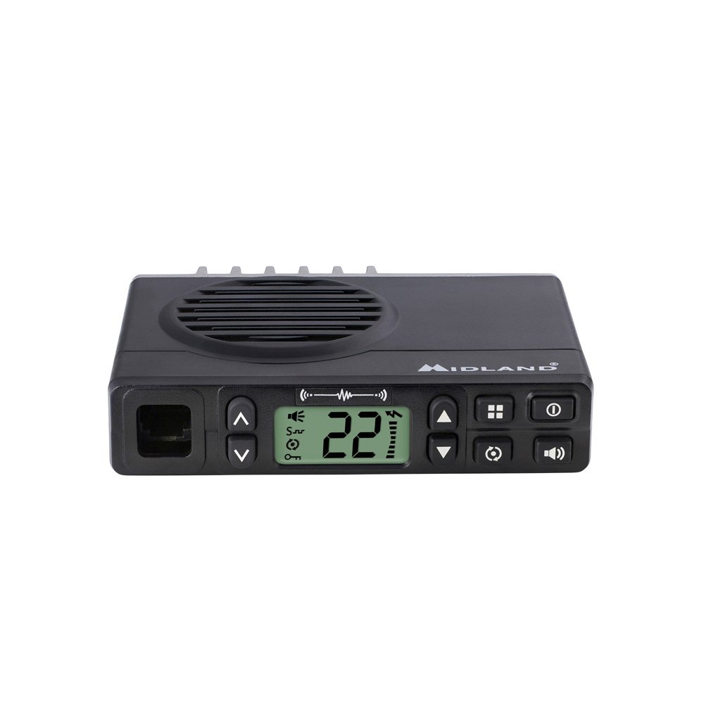 Midland Consumer Radio GXT1000XB Micro Mobile 5W Gmrs with A Portable 36-Mile 50-Channel GMRS Two-Way Radios Bundle by Midland (Image #5)