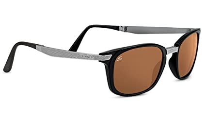 1a5843b931b Image Unavailable. Image not available for. Color  Serengeti Volare Shiny  Medium Gunmetal Polarized Drivers