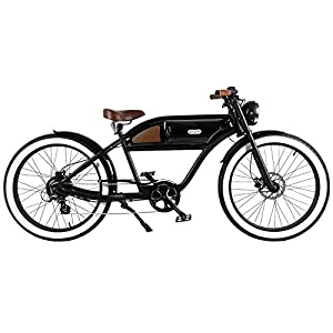 Overfly Chameleon eBike MTB 500W Motor Shimano Acera 8 Speed Electric Bicycle 20mph 40 Mils Mountain Bike