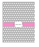 House of Doolittle 2016 - 2017 Weekly & Monthly Planner, Academic, Dots, 7'' x 9'' (HOD29593-17)