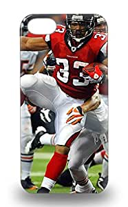 Awesome Iphone Defender Tpu Hard 3D PC Soft Case Cover For Iphone 5/5s NFL Atlanta Falcons Micheal Turner #33 ( Custom Picture iPhone 6, iPhone 6 PLUS, iPhone 5, iPhone 5S, iPhone 5C, iPhone 4, iPhone 4S,Galaxy S6,Galaxy S5,Galaxy S4,Galaxy S3,Note 3,iPad Mini-Mini 2,iPad Air )
