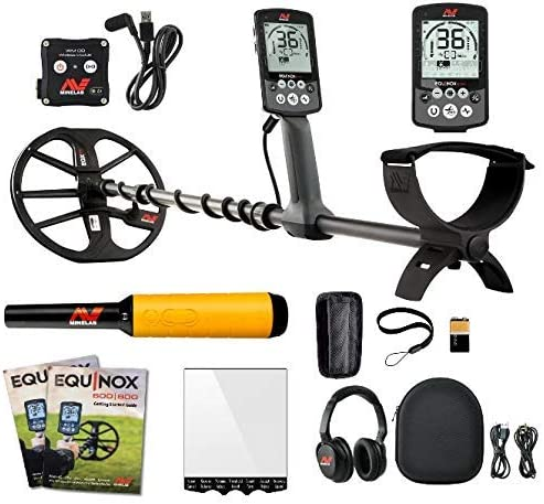 Minelab Equinox 800 Multi-IQ Underwater Waterproof Metal Detector Pro Find 35