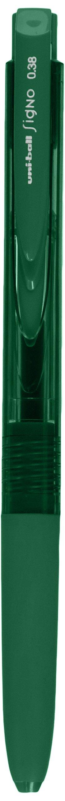 Uni Ball Signo Knock Ballpoint Pen RT1 0.38mm Color, Green..
