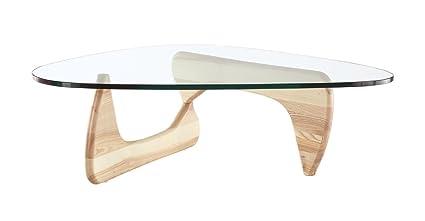Kardiel 1956 Arch Mid Century Modern Coffee Table, Natural Ashwood