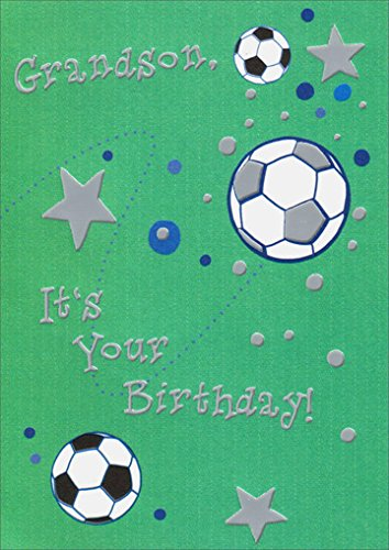 Amazon Bouncing Soccer Balls Freedom Greetings Grandson