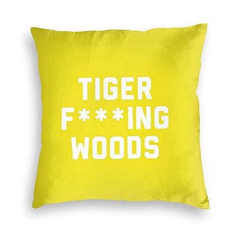Ownspace Tiger Fcuking Woods - Funda de cojín de Terciopelo ...