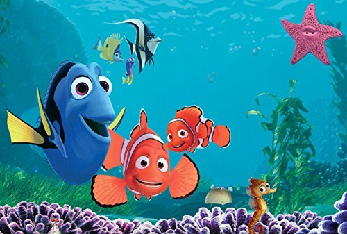 Finding Nemo Edible Image Photo 1/4 Quarter Sheet Cake Topper Personalized Custom Customized Birthday -