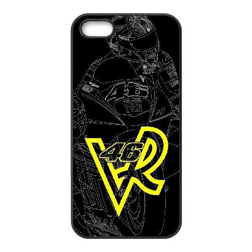 Valentino Rossi RO71DZ4 coque iPhone 4 téléphone cellulaire 4S cas coque Q2LE3X4AV