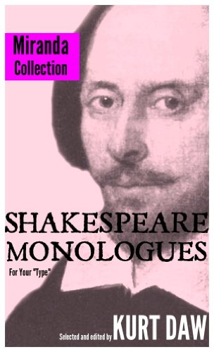 10 Terrific Shakespeare Monologues for Tween and Teen Girls: The