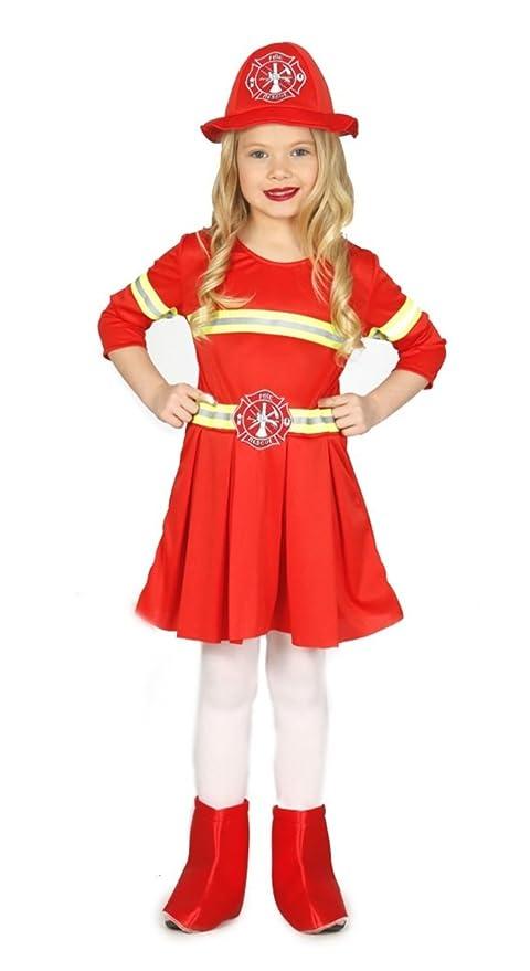 Guirca - Disfraz de bombero para niños, M, 83234: Amazon.es ...