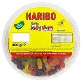 Haribo Little Jelly Men, 400g Drum