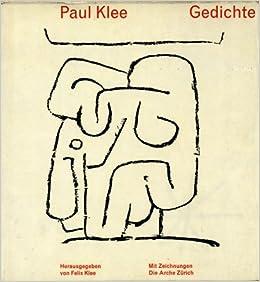 Gedichte Amazonde Paul Klee Felix Klee Bücher