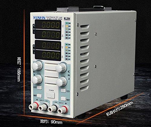 110V/220V Dual Channel Adjustable LCD DC Electronic Load Instrument KL283 KL293 KL293A KL284 KL284A (KL293A)