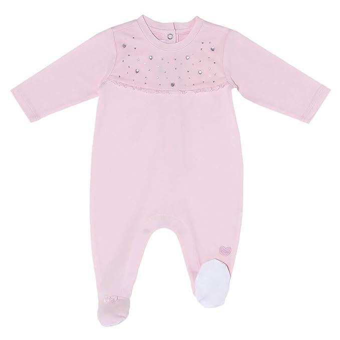 Chicco - Pelele - Básico - para bebé niña Rosa 44 cm: Amazon.es: Ropa y accesorios