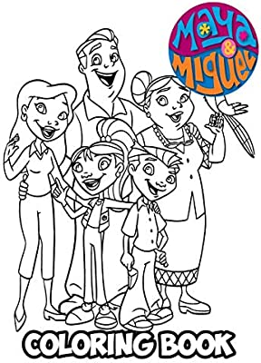 Free Maya And Miguel Coloring Pages, Download Free Clip Art, Free ... | 400x292
