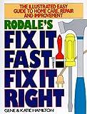 Rodale's Fix It Fast, Fix It Right, Gene Hamilton and Katie Hamilton, 1567310583