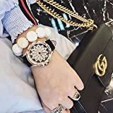 Generic Korean_style_of simple_to_operate_when_water-resistant_ watch es women girl _new_ fashion _trend_personality_atmospheric_ women girls _jacket_with_wrist watch es.