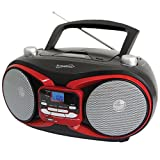 Amazon Price History for:SuperSonic SC-504 RED Portable MP3 & Cd Player with Am/FM Radio