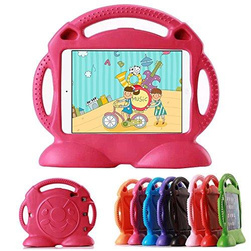 Lioeo Kids Case for iPad Mini 1 2 3 4 5 Protective Shockproof Handle Stand Cover Kids Friendly for iPad Mini 5 (2019) Mini 4 Mini 3 Mini 2 7.9 inch Tablet
