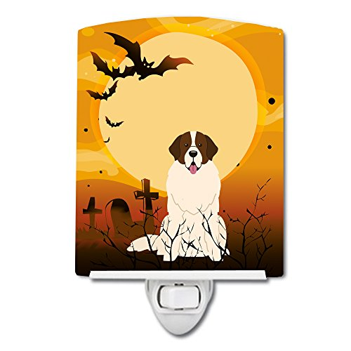 Caroline's Treasures BB4293CNL Halloween Moscow Watchdog Ceramic Night Light, 6x4x3, Multicolor ()